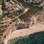 Hotel Baía Cristal and Vale de Centianes beach