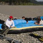 Deflating the raft