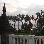 Rankala Lake from the hotel