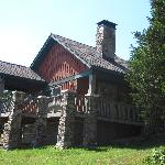 cabin at the Lodge at Mt. Magazine