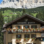 Hotel Ustaria Posta at the feet of the Sas dla Crusc Mountain