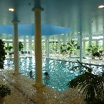 The pool & spa area...