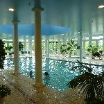The pool & spa area...