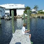 In addition to the beautiful Marina there's dry storage, and great fishing off the docks...Black