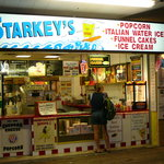 Exterior of Starkey's on the boardwalk 2011