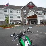 Motorcycling stay at Hampton Inn