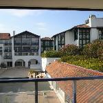 vue appart 1er étage sur patio