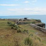 WW II gun emplacements