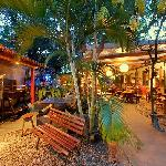 Our covered terrace