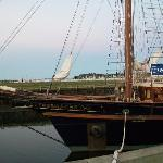 Free tours of the tall ship Peacemaker