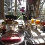 幸せの朝食