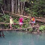 crossing water at 3rd falls