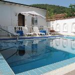 la piscine de Muses House