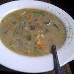 Alpaca/Quinoa soup