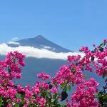 Finca Casa-Vieja mit Blick auf den Teide