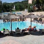 sunny days pool area