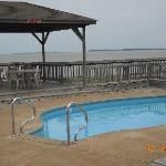 pool at comfort inn