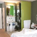 Room and bathroom