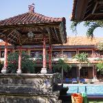 Masa Inn - Blick vom Restaurant 2011