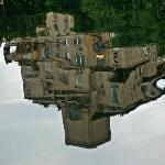 House Reflection at the Boathouse