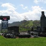 Roseburg museum - some huge outside exhibits