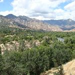 The view onto Kern River
