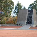 From across Anzac parade