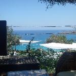 Cliff bar view