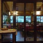Part of Mauro's restaurant