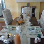 B&B's dining room