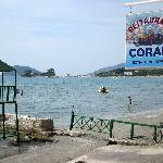 Meersicht auf Insel Ag Sostis