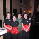 Staff at the Chinese Resturant