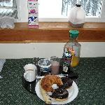 Breakfast in the room