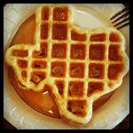 The Texas Waffle at Days Inn and Suites Mineral Wells