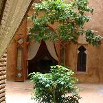 Patio du Riad Zahir
