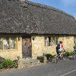 Traditional cottages in the Cotswolds