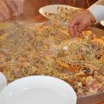 Kaburga dolmasi, the speciality of the restaurant