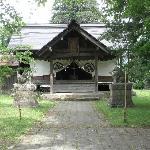 城址公園内の神社