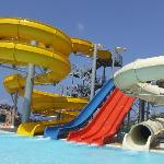The Waterslides!