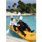 Chef in Kayak