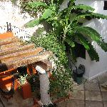Downstairs near the pool