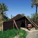 A private tent
