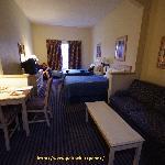La stanza dell'Hotel Comfort Suites di Orlando
