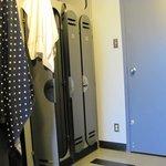 In-room lockers