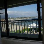 ocean view from the room