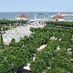 Sopot pier from tourist centre
