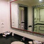 Enclosed bathroom - no windows