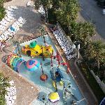 splash area