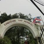 Kundasang War Memorial entrance