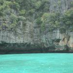 beach at the phi phi slands